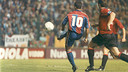 Romàrio scoring/ PHOTO: FCB ARCHIVE