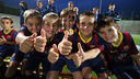 The youth teams were presented on Wednesday / PHOTO: MIGUEL RUIZ-FCB