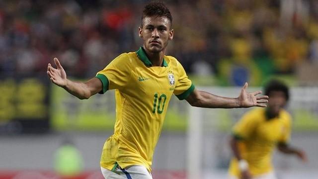 Neymar celebrating a goal / PHOTO: FIFA.COM