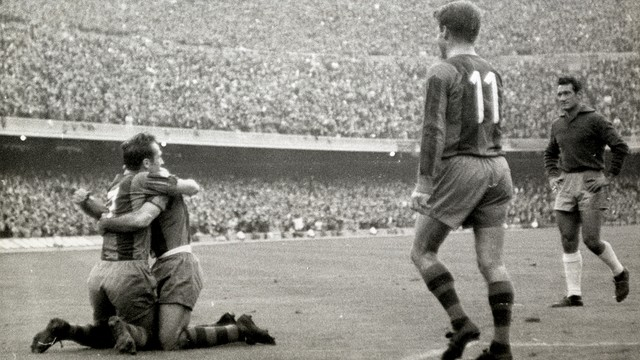 FCB 4-0 R.Madrid (58/59). PHOTO: FCB ARCHIVE