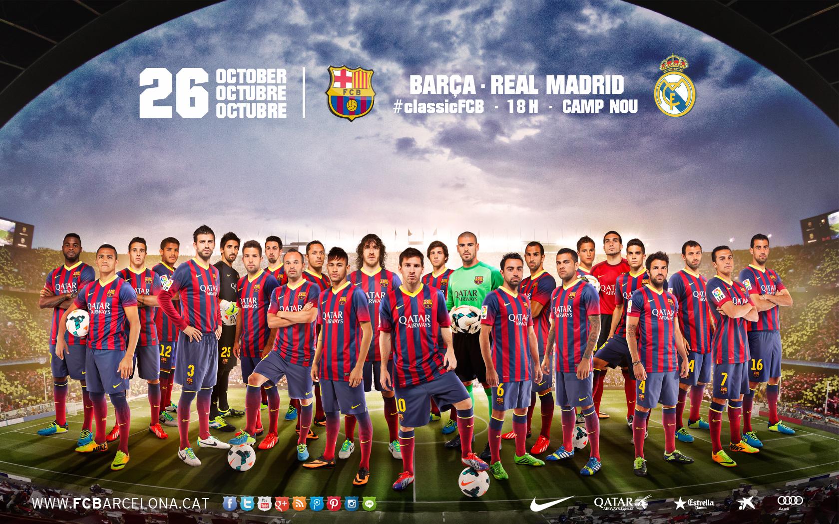 Fondos De Pantalla Del Fútbol Club Barcelona Wallpapers: Los Fondos De Pantalla Del Clásico FC Barcelona