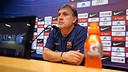 Gerardo Martino, en la roda premsa prèvia al Clàssic. FOTO: MIGUEL RUIZ-FCB.