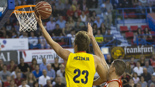 Hezonja during the match