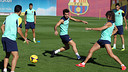 Sunday training session / PHOTO: MIGUEL RUIZ - FCB