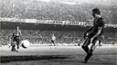 Cruyff's first goal. PHOTO: Arxiu FCB