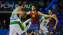 Abrines, face à Gladyr. PHOTO: GERMÁN PARGA - FCB