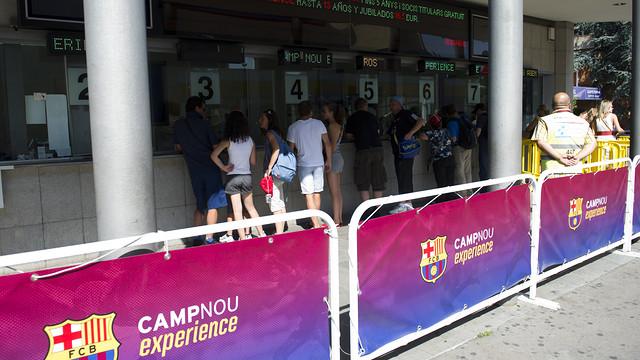 Palau Blaugrana / PHOTO: ARCHIVE FCB