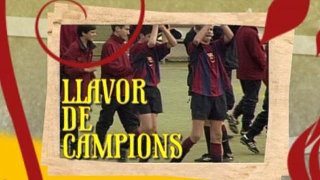 Careta del programa 'Llavor de campions'