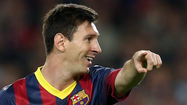 Leo Messi.