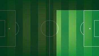 Posición en el campo de Messi