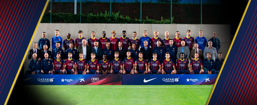 The FCBarcelona B team