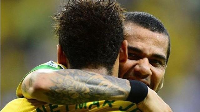 Neymar i Alves / FOTO: Instagram neymarjr