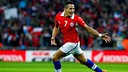 Alexis celebrates scoring against England / PHOTO: ANFP.CL