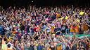 Supporters at Camp Nou Stadium. FOTO: GERMÁN PARGA-FCB.