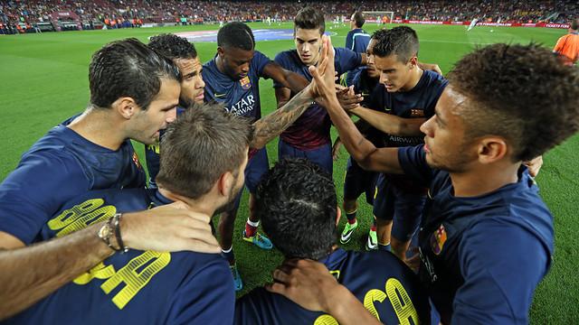 Final preparations for league clash Valladolid / PHOTO: MIGUEL RUIZ – FCB