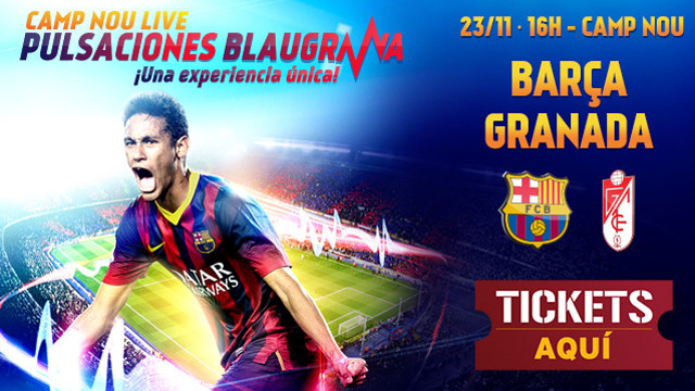New campaign 'Camp Nou Live: Blaugrana heartbeats'
