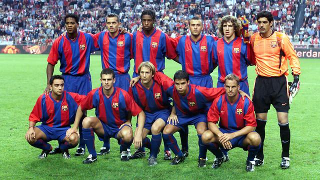 L'equip titular l'agost del 2002. FOTO: MIGUEL RUIZ - FCB