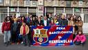 Inauguracions d'escut FCB - Granada