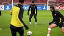Neymar on Monday in the Amsterdam Arena / PHOTO: MIGUEL RUIZ - FCB