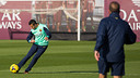 Alexis, at training. PHOTO: GERMÁN PARGA- FCB