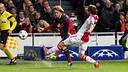 Patric during the game against Ajax / PHOTO: MIGUEL RUIZ - FCB