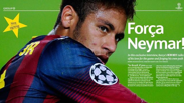 UEFA's Champions Matchday magazine