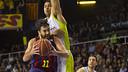 Navarro against Hettsheimeir / PHOTO: VÍCTOR SALGADO