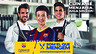 Carme Ruscalleda, Cesc Fàbregas and Marc Bartra  with 'We are what we eat'