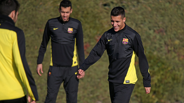 Tello in training on Tuesday
