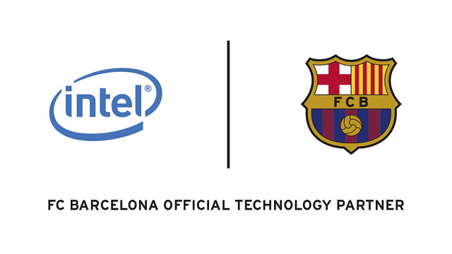 Intel and FC Barcelona.