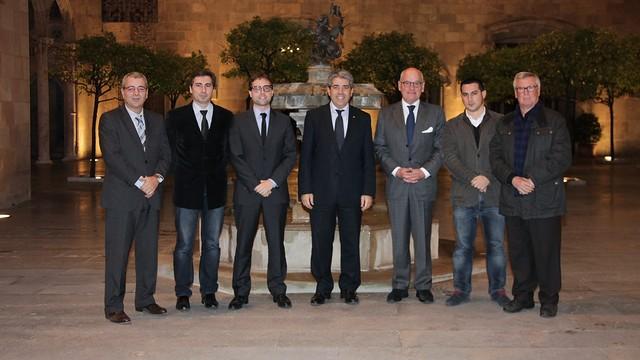 FC Barcelona at a DiploCat event in 2013. / Rubén Moreno.