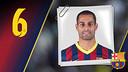 Imatge oficial de Fernandao amb la samarreta del FC Barcelona