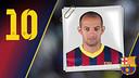 Imatge oficial d'Igor amb la samarreta del FC Barcelona