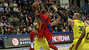 Sonny Weems, en una acción del partido. FOTO: EUROLEAGUE