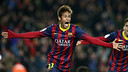 Neymar Jr celebrating a goal / PHOTO: MIGUEL RUIZ-FCB
