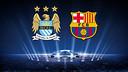 Manchester City vs FC Barcelona Champions League draw