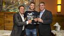 Eusebio, Ilie and Mestre / PHOTO: VICTOR SALGADO - FCB