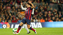 Carles Puyol was back at the Camp Nou / PHOTO: MIGUEL RUIZ-FCB
