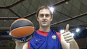 Lorbek is leaving the Palau Blaugrana / PHOTO: FCB Archive