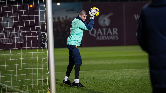 Valdés / PHOTO: GERMÁN PARGA-FCB.