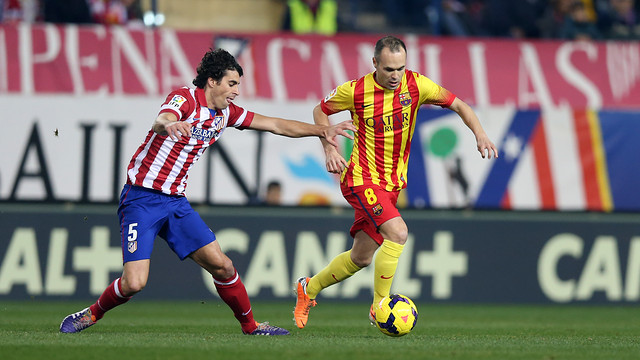 Andrés Iniesta and Tiago