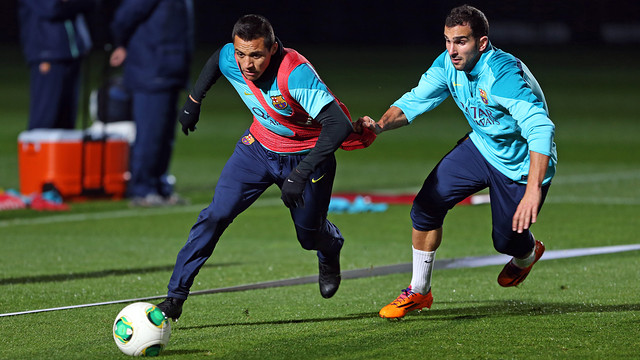 Alexis and Montoya / PHOTO: MIGUEL RUIZ-FCB.