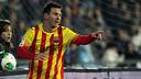 Messi celebra un gol contra el Getafe. FOTO: MIGUEL RUIZ - FCB