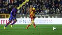 Tello ha fet el seu primer hat-trick amb el Barça. / FOTO: MIGUEL RUIZ-FCB