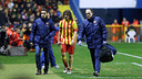 Carles Puyol, walking off against Levante / PHOTO: MIGUEL RUIZ - FCB