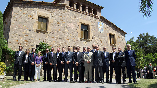 Sandro Rosell and the Board of Directors