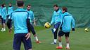 Saturday morning's training session / PHOTO: MIGUEL RUIZ – FCB