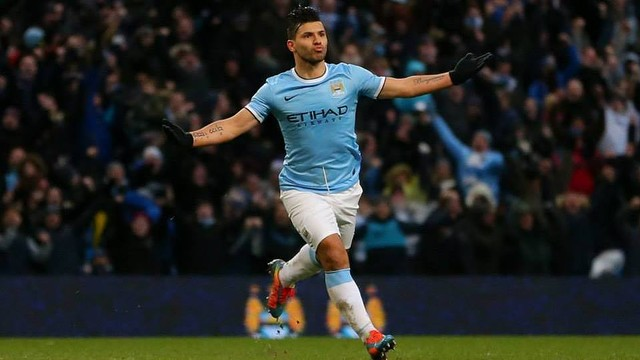 Aguero will be out for a month / FOTO: Manchester City