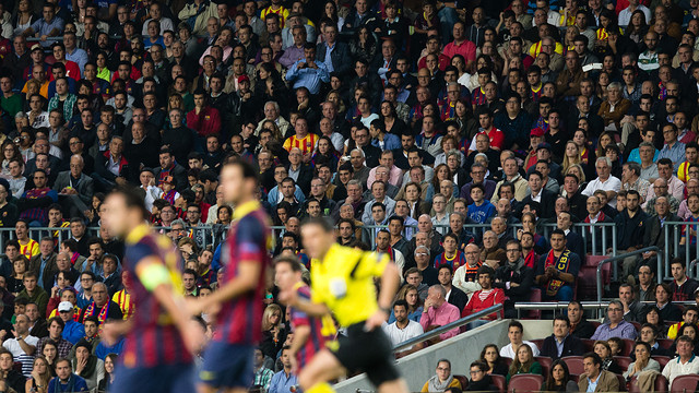 A big crowd is expected at the Camp Nou / PHOTO: GERMÁN PARGA - FCB