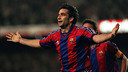Juan Antonio Pizzi scored Barça's incredible late winner / PHOTO: FCB Archive